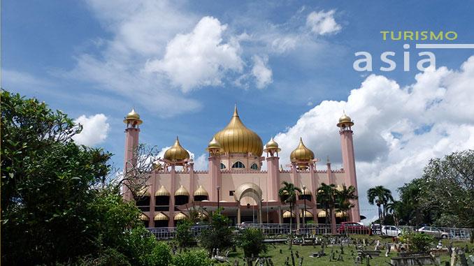 Una de las mezquitas de Kuching, Masjid Bandaraya