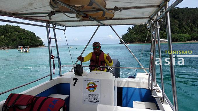 viajamos a las mejores playas de Kota Kinabalu