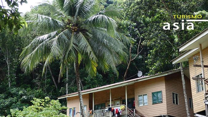 En Sabah visitamos la isla de Sapi