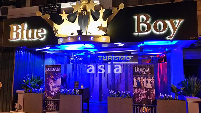 Gay bar Kuala Lumpur Blue Boy