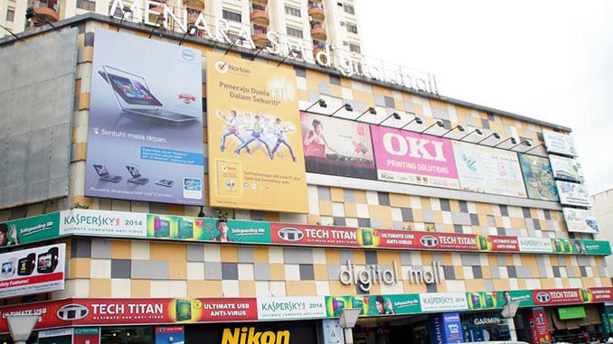 Comprar electrónica en Kuala Lumpur en el Digital Mall