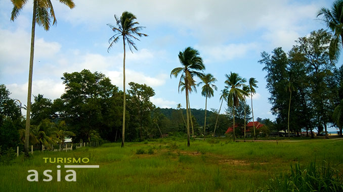 Playas virgenes Malasia