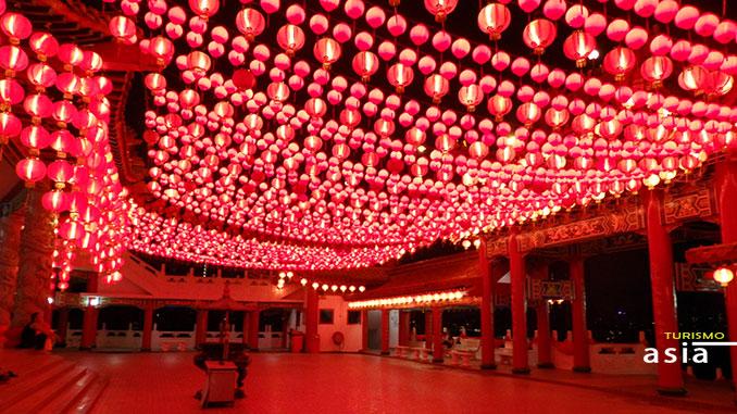 El templo chino de Kuala Lumpur