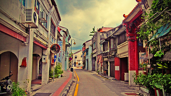 hoteles y guest house en Penang Malasia