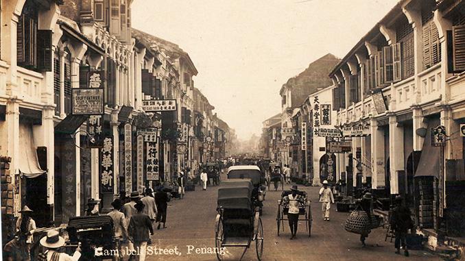 Foto historia de Penang en Malasia