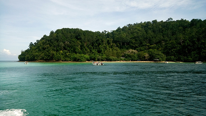 Playas de Borneo