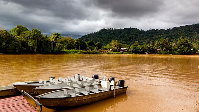 clima en la isla de Borneo