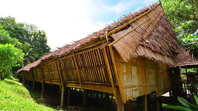Cómo es un LongHouse en Borneo