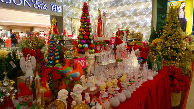 decoración Navidad en Kuala Lumpur