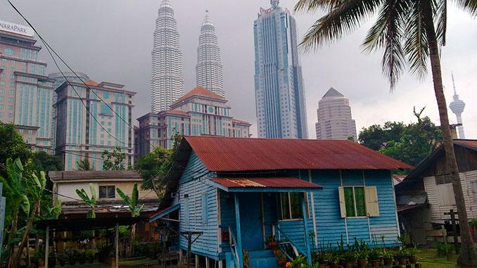 El barrio de Kampung Baru una de las cosas qué ver en Kuala Lumpur