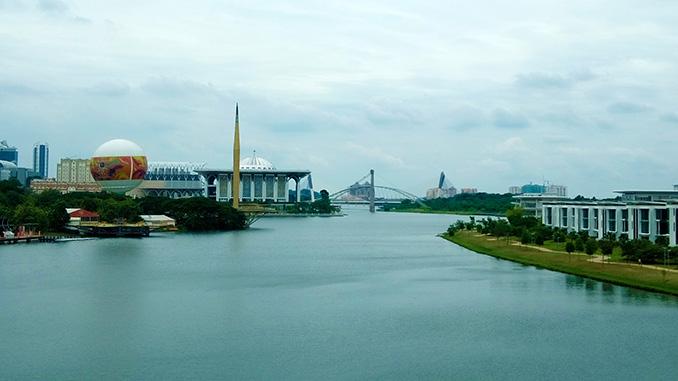 Paseo en globo por la ciudad de Putrajaya