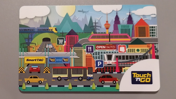 Tarjeta de transporte de Kuala Lumpur