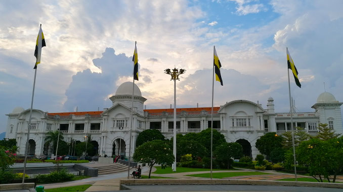Que ver en Ipoh la estación de tren de la ciudad