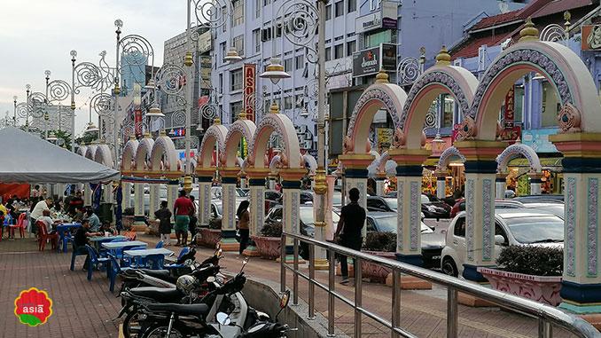 decoración hindú en Kuala Lumpur