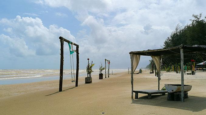 D aur beach en Kelantan