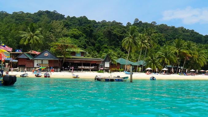 Isla Perhentian Besar en Malasia