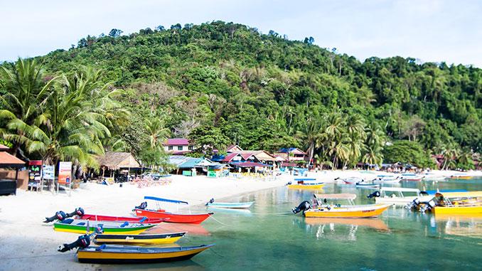 Islas Perhentian en la Península de Malasia